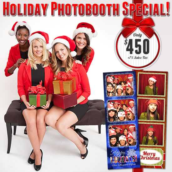 Holiday Photo Booth Sale