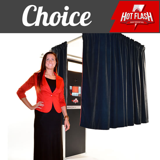 Show Me The Choice Photo Booth Package.