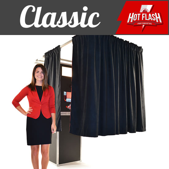 Show Me The Classic Photo Booth Package.