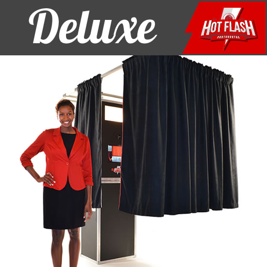 Show Me The Deluxe Photo Booth Package.