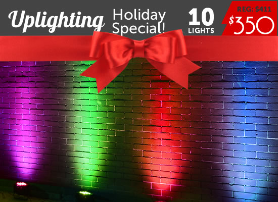 Add Uplighting to Your Photobooth Rental!